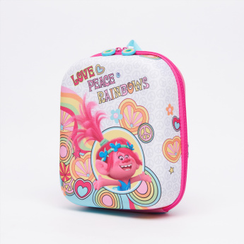 Trolls Printed Mini Lunch Backpack with Zip Closure
