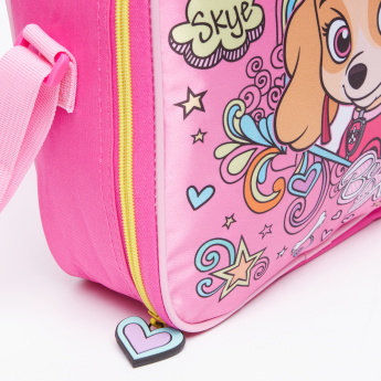 PAW Patrol Printed Insulated Lunch Bag with Zip Closure