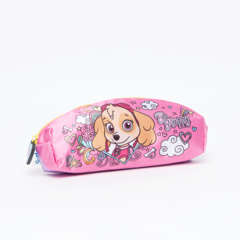 PAW Patrol Printed Pencil Case with Zip Closure