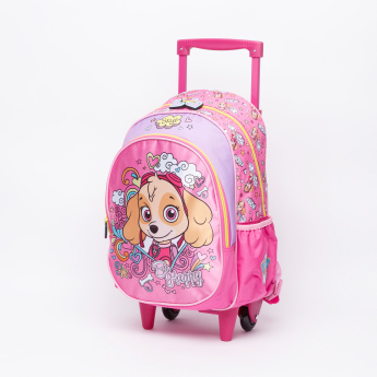PAW Patrol Printed Trolley Backpack with Zip Closure