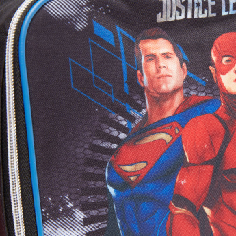 Justice League Printed Lunch Bag with Zip Closure