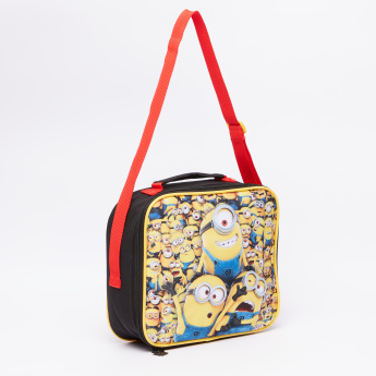 Despicable Me Printed Insulated Lunch Bag with Zip Closure