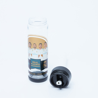 Real Madrid Printed Water Bottle with Spout - 500 ml