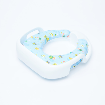 Juniors Printed Cushioned Baby Potty Seat with Cutout Handles