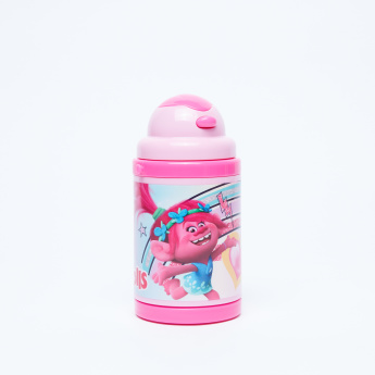 Trolls Printed Water Bottle with Spout