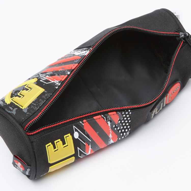 Fullstop. Printed Pencil Case with Zip Closure