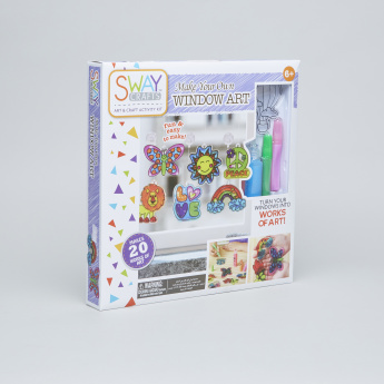 SWAY Crafts Make Your Own Window Art Creativity Kit