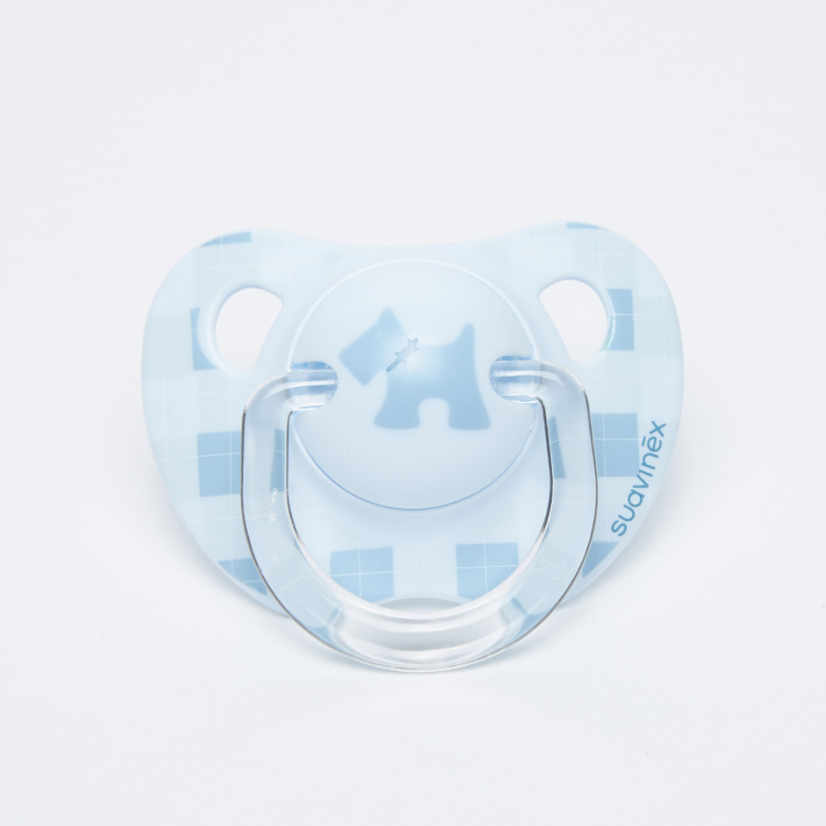 Suavinex Printed Soother with Handle