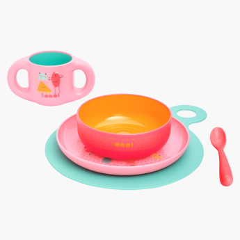 Suavinex Printed Toddler 6-Piece Feeding Set