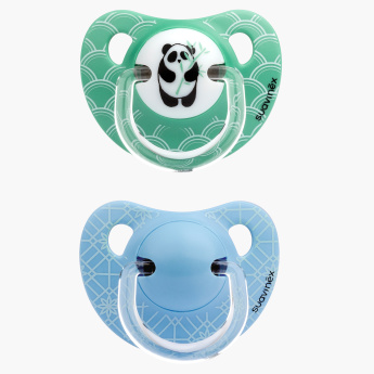 Suavinex Printed Soother - Set of 2
