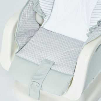 Juniors Apricot Baby Swing Bed