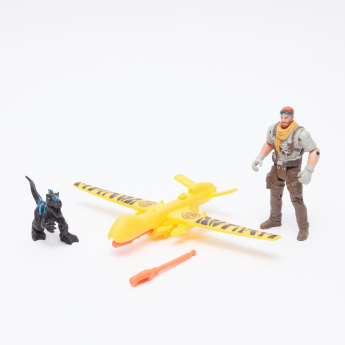 DINO VALLEY Air Patrol Playset