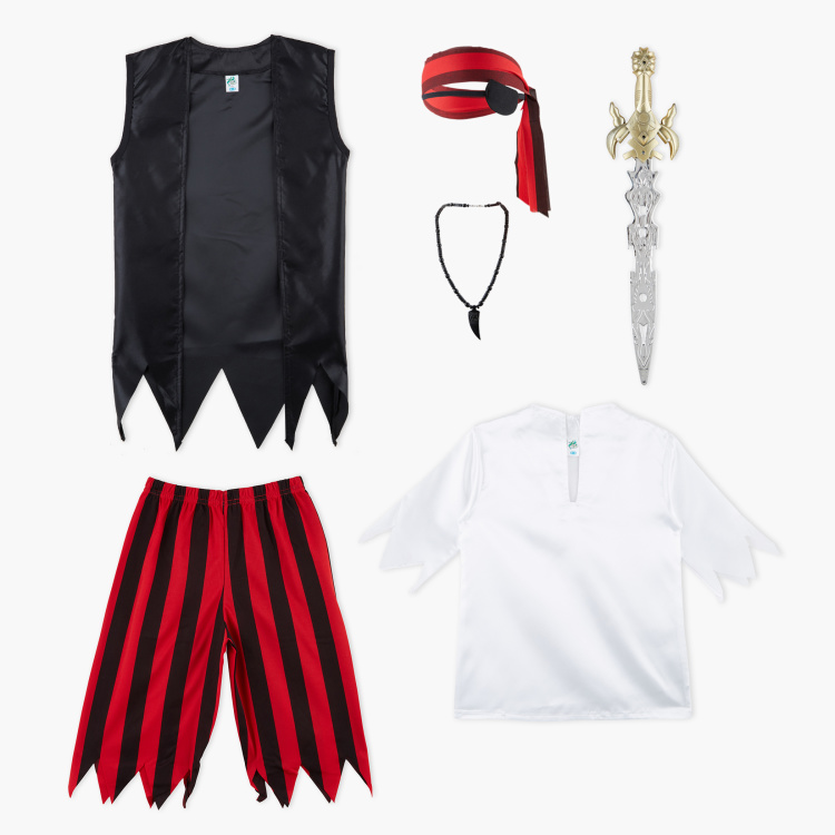 Pirate 7-Piece Costume Set