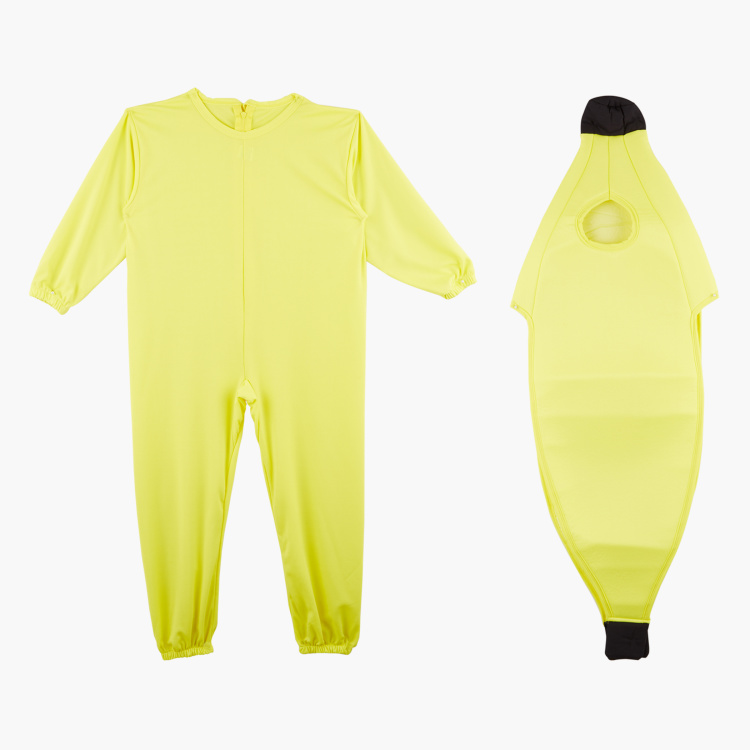 Round Neck Banana Costume