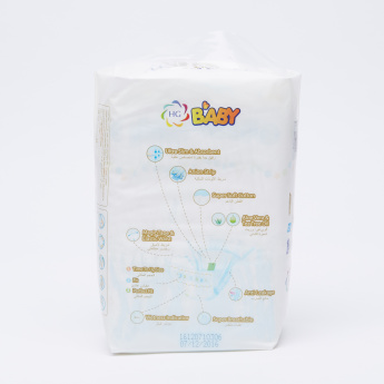 HG Anion 16-Piece Baby Diapers - Extra Large