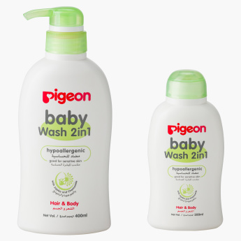 Pigeon 2-in-1 Body Wash - Set of 2