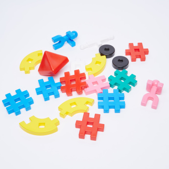 Juniors 61-Piece Connecting Blocks Set