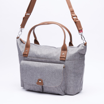 Juniors Babymel Jade Nursery Bag - Grey