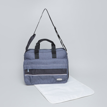 Juniors Diaz Nursery Bag with Zip Closure and Twin Handles