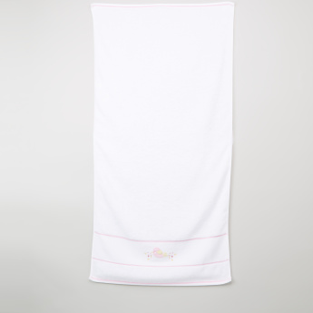 Juniors Embroidered Towel - 60x120 cms