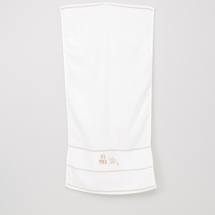 Juniors Embroidered Towel - 38x76 cms