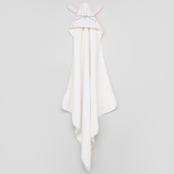 Giggles Hooded Towel with Wash Cloth