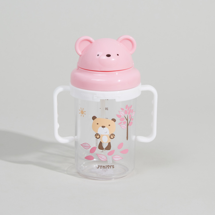 Juniors Printed Spout Cup with Brush