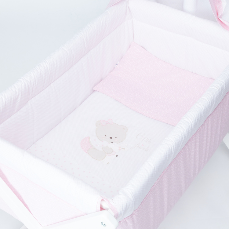 Juniors Cradle Bed with Canopy
