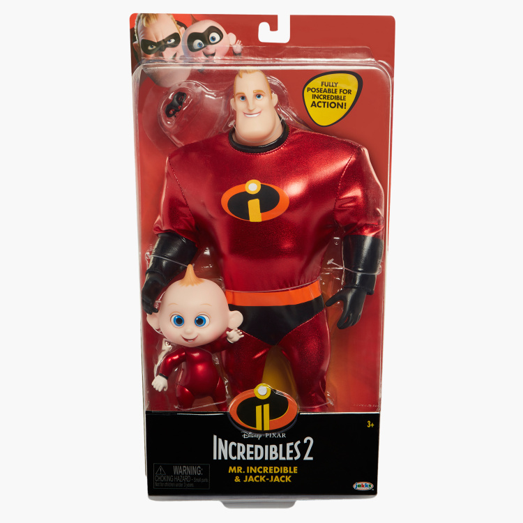 The Incredibles Jack-Jack and Mr.Incredible Playset