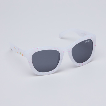 Juniors Abstract Print Sunglasses