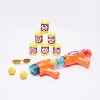 Juniors 6-Ball Pop Multi Shooter Playset