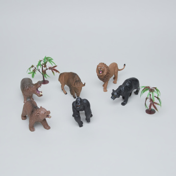 8-Piece Wild Animal Set