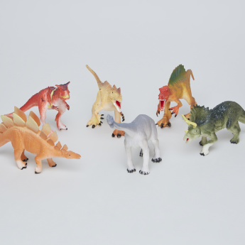 6-Piece Dinosaur Toy Set