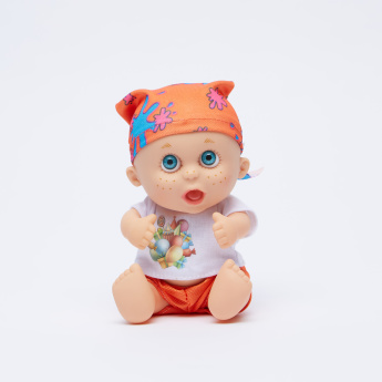 Sitting Doll with Sound