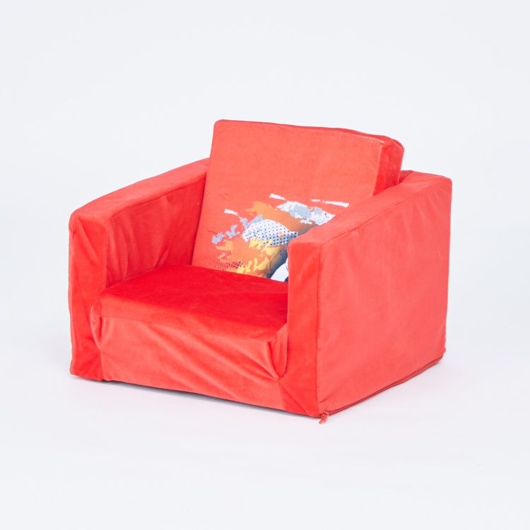 Juniors Printed 1-Seater Sofa Bed