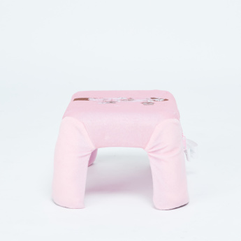 Juniors Printed Stool with Zip Closure