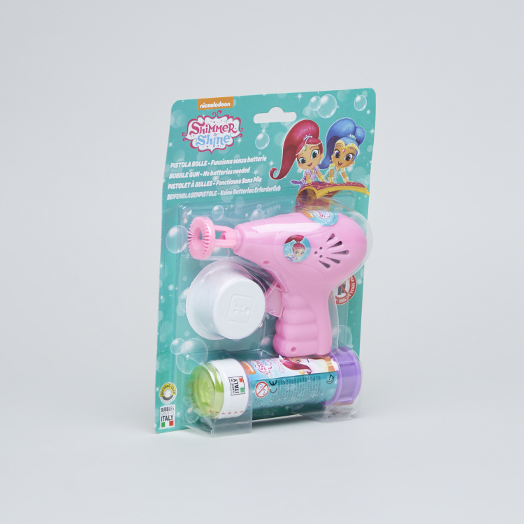 Shimmer and Shine Printed Bubble Gun