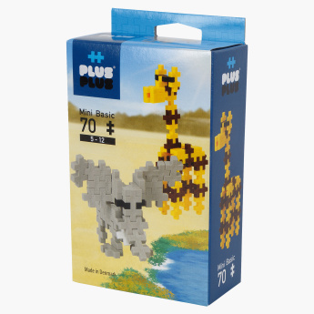 Plus-Plus Mini Basic Safari 70-Piece Blocks Playset