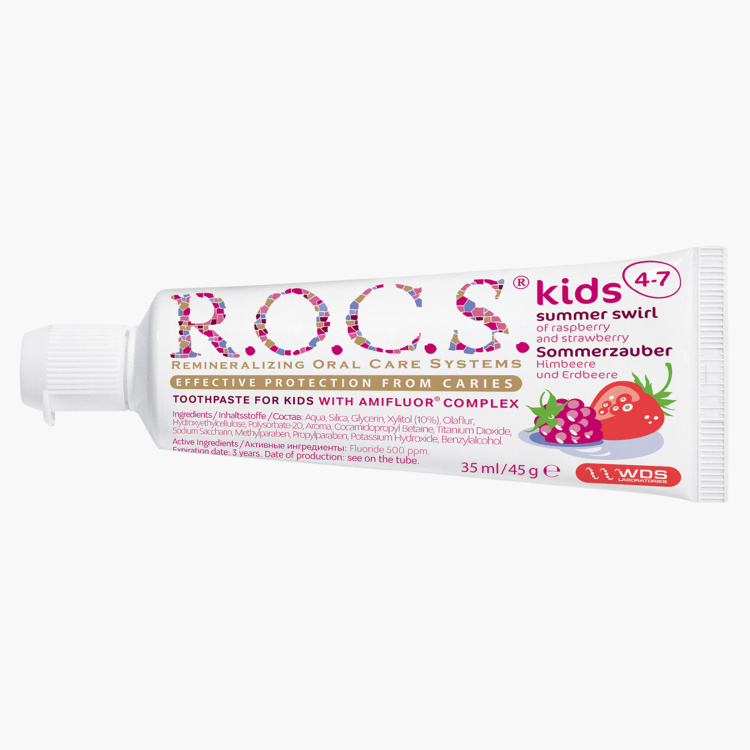 R.O.C.S Raspberry and Strawberry Toothpaste