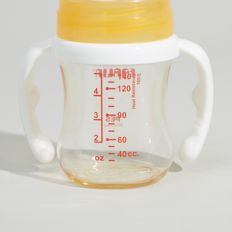 FARLIN Printed Feeding Bottle with Handle - 140 ml