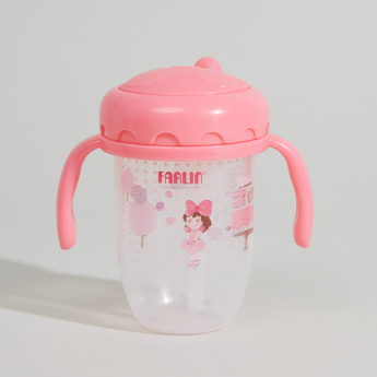 FARLIN Drinking Cup with Straw - 240 ml
