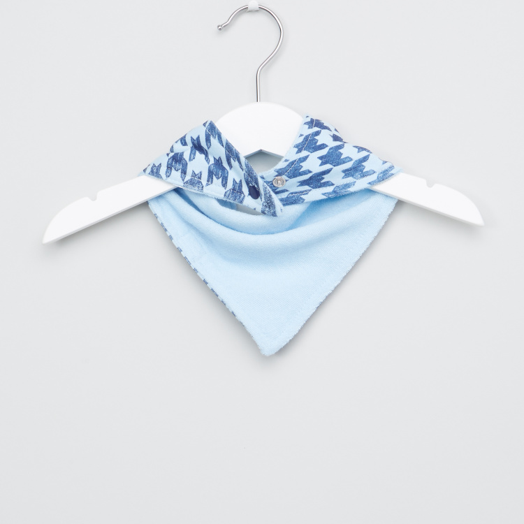 Hudson Baby Printed Bandana Bib - Set of 2