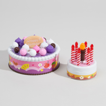 Candle Cake Birthday Playset