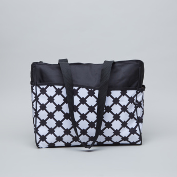 Juniors Printed Diaper Bag