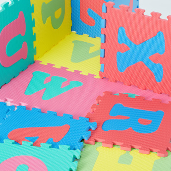 Juniors 26-Pieces Alphabet Puzzle Mat