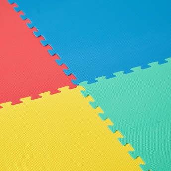 Juniors Textured 4-Piece Floor Mat Set