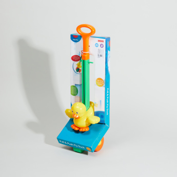 Juniors Push and Pull Fly Duck Toy