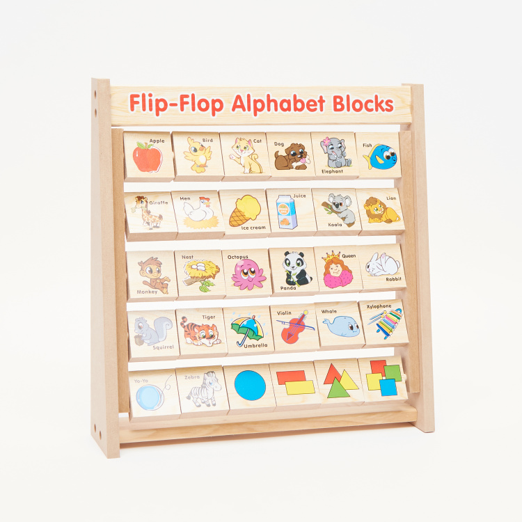 Juniors Flip Flop Alphabet Blocks