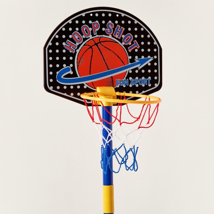 Juniors Adjustable Basketball Stand Playset
