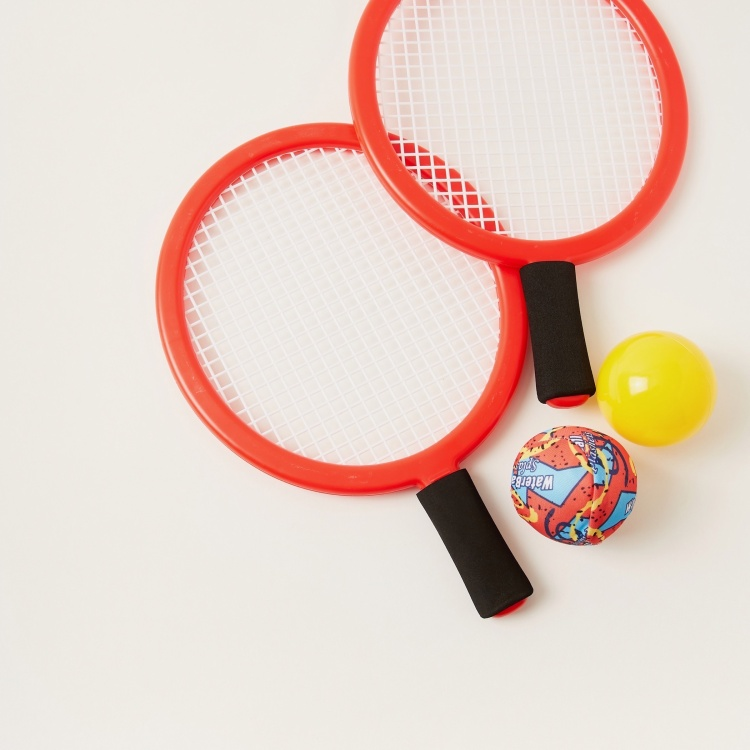 Juniors 2-in-1 Sports Racket Playset